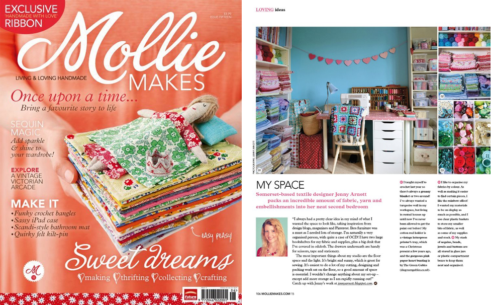 Mollie Makes Feature - June 2012